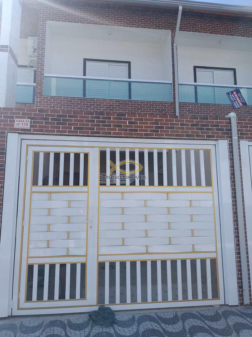 Sobrado de Condomínio com 2 dorms, Glória, Praia Grande - R$ 230 mil, Cod: 60020134