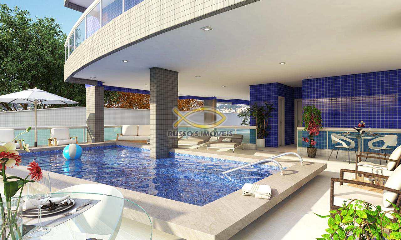 Apartamento com 1 dorm, Aviação, Praia Grande - R$ 190 mil, Cod: 60020555