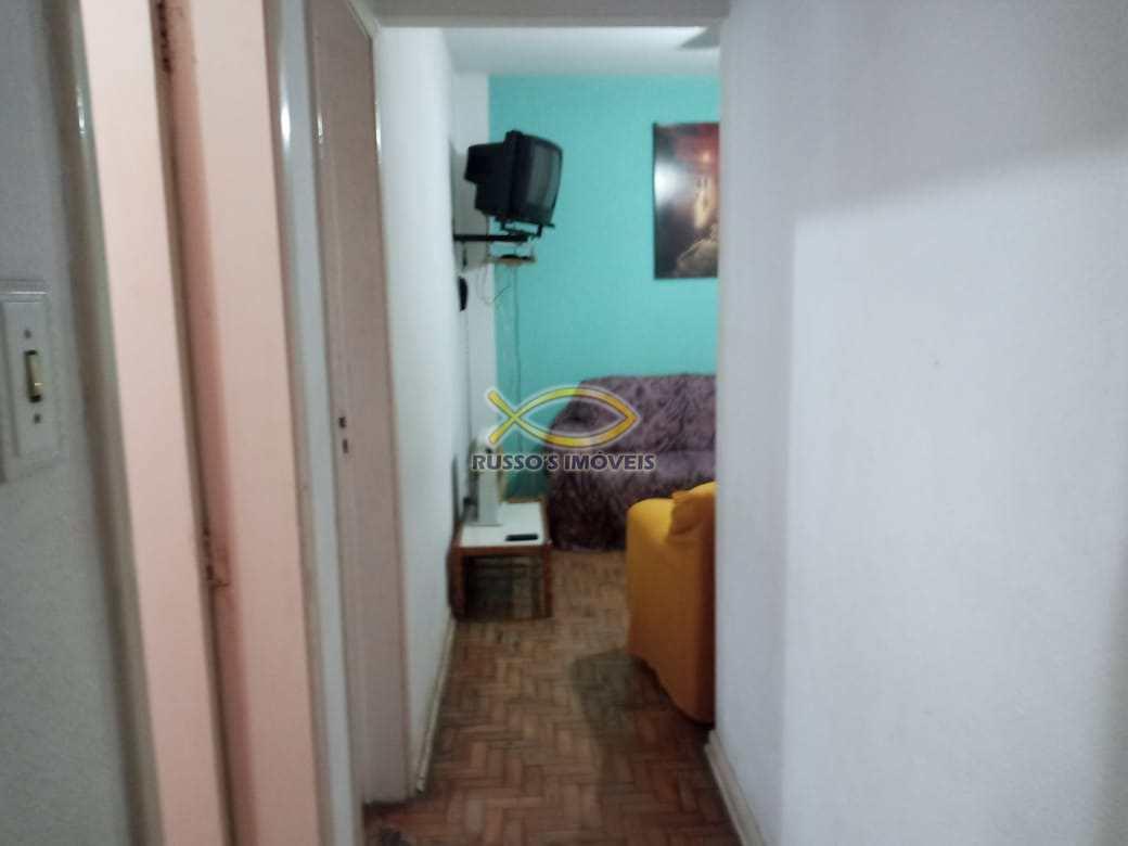 Apartamento com 1 dorm, Guilhermina, Praia Grande - R$ 130 mil, Cod: 60020619