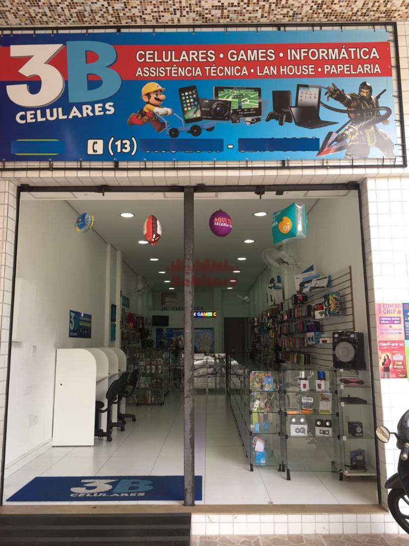 LOJA COMPLETA TELEFONIA / PAPELARIA / LAN HOUSE - SANTOS 662548