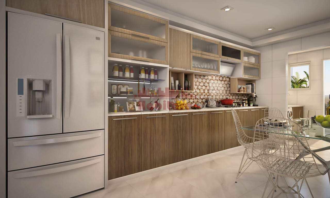 Apartamento com 3 dorms, Guilhermina, Praia Grande - R$ 495 mil, Cod: 662823