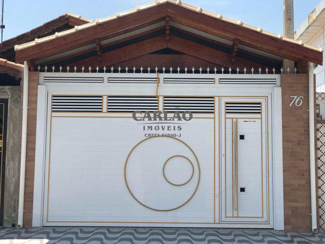 Casa com 2 dorms, Maracanã, Praia Grande - R$ 349 mil, Cod: 352181