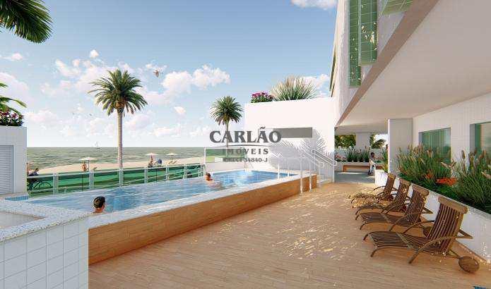Apartamento com 2 dorms, Centro, Mongaguá - R$ 358 mil, Cod: 352201