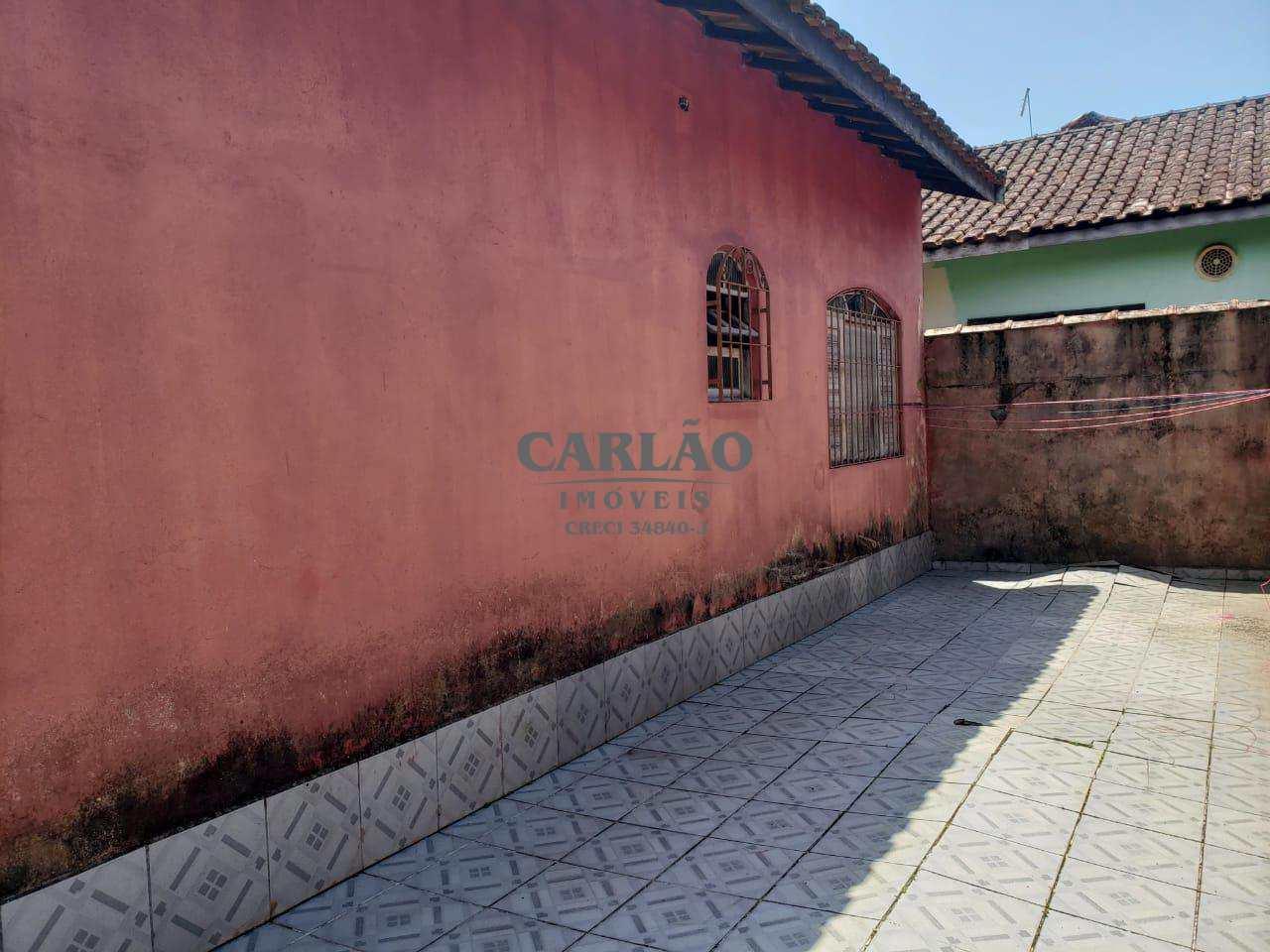 Casa com 2 dorms, Itaóca, Mongaguá - R$ 150 mil, Cod: 352244