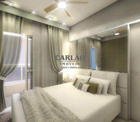 Apartamento com 2 dorms, Centro, Mongaguá - R$ 336 mil, Cod: 352297