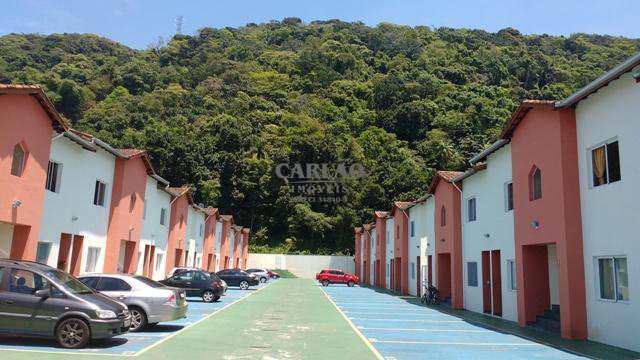 Sobrado de Condomínio com 2 dorms, Centro, Mongaguá - R$ 200 mil, Cod: 352316
