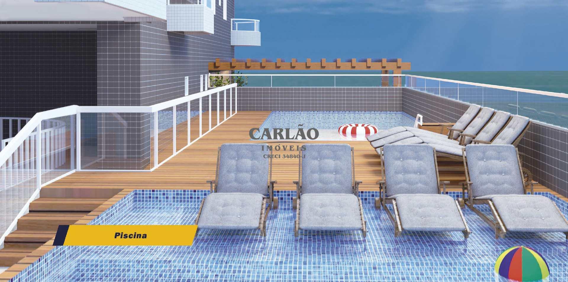 Apartamento com 1 dorm, Aviação, Praia Grande - R$ 232 mil, Cod: 352573