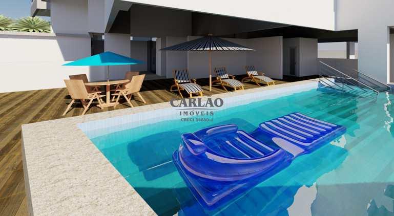 Apartamento com 2 dorms, Guilhermina, Praia Grande - R$ 404 mil, Cod: 352581