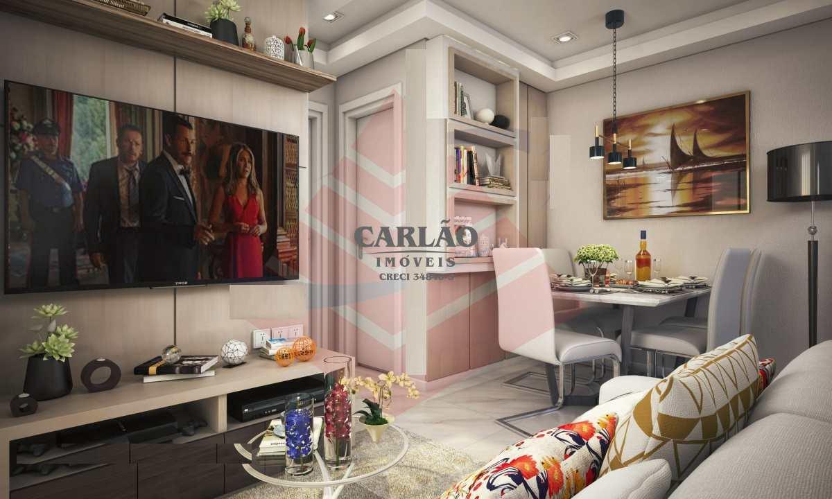 Apartamento com 2 dorms, Aviação, Praia Grande - R$ 222 mil, Cod: 352781