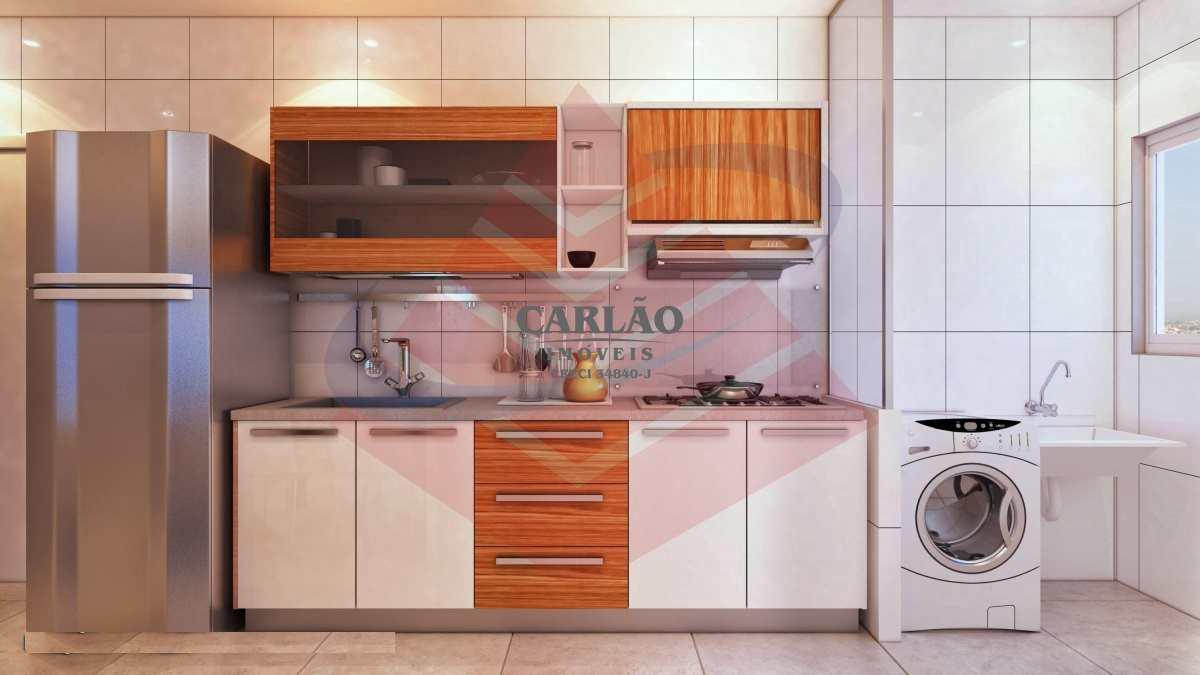 Apartamento com 2 dorms, Guilhermina, Praia Grande - R$ 246 mil, Cod: 352785