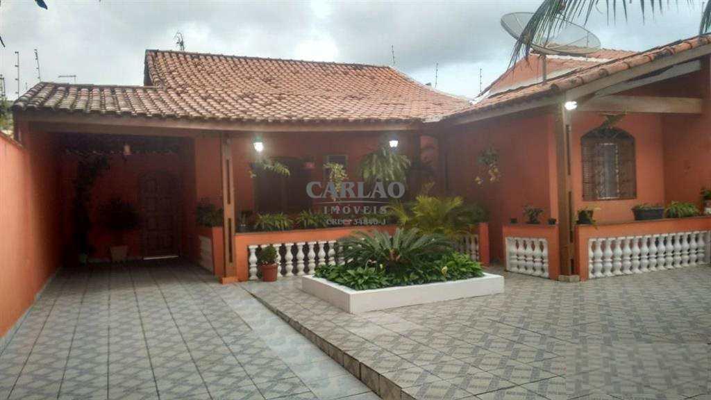 Casa com 3 dorms, Gaivotas, Itanhaém - R$ 290 mil, Cod: 352965