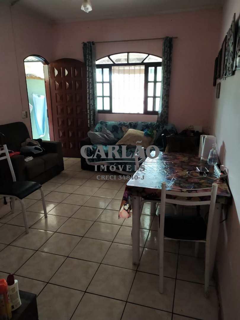 Sobrado com 3 dorms, Balneário Jussara, Mongaguá - R$ 254 mil, Cod: 353306