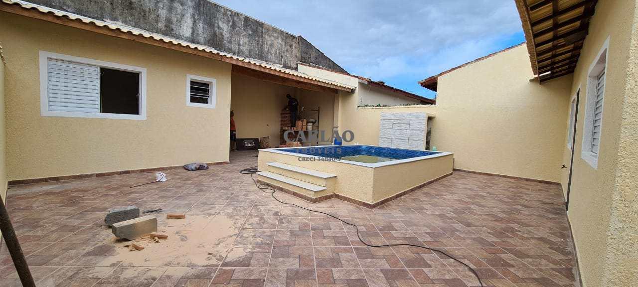 Casa com 2 dorms, Balneário Santa Júlia, Itanhaém - R$ 389 mil, Cod: 353328