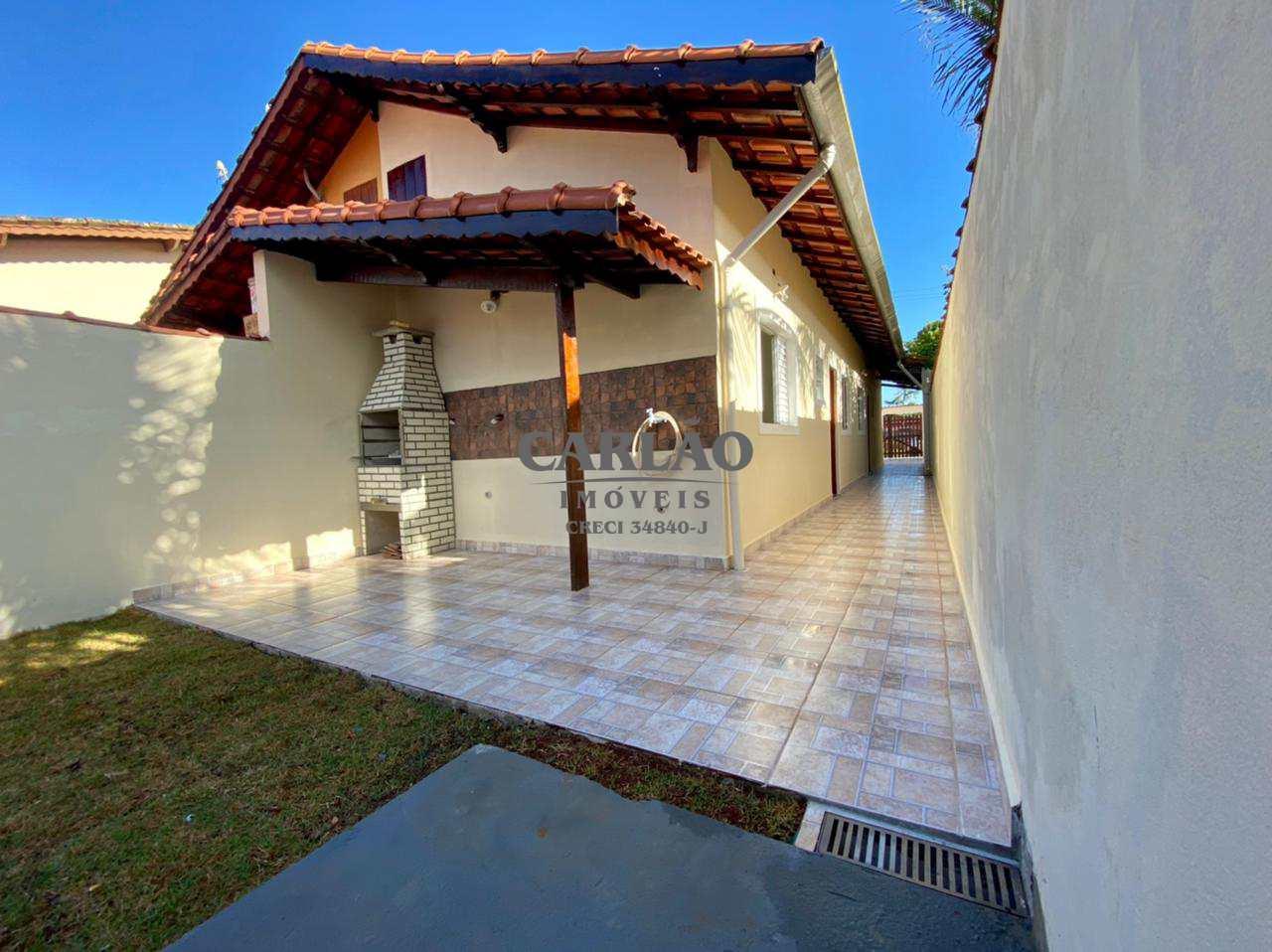 Casa com 3 dorms, Balneário Flórida Mirim, Mongaguá - R$ 270 mil, Cod: 353341