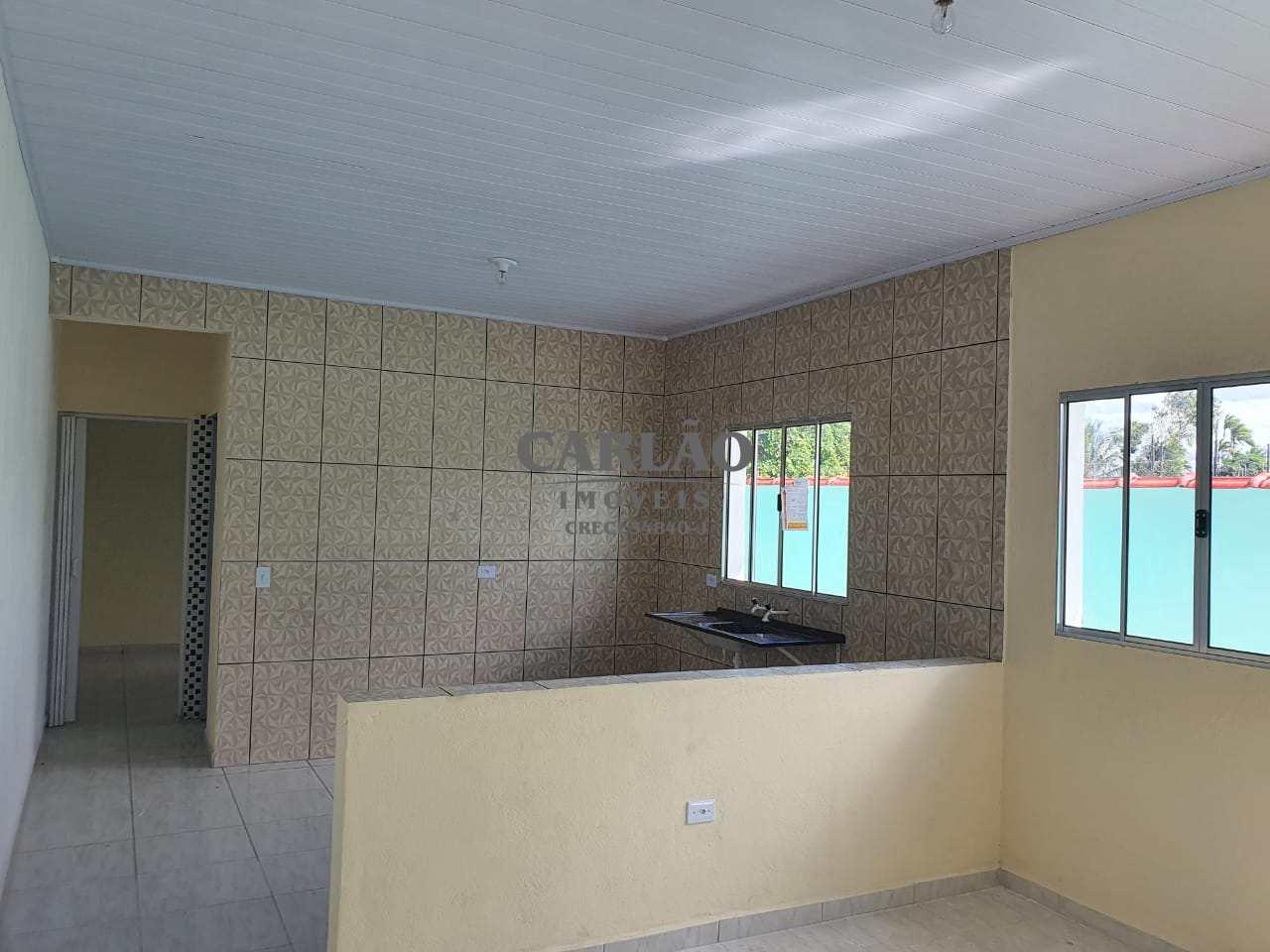 Casa com 2 dorms, Jardim Leonor Jussara, Mongaguá - R$ 175 mil, Cod: 353351