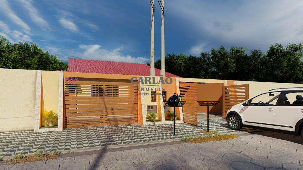 Casa com 2 dorms, Suarão, Itanhaém - R$ 250 mil, Cod: 353397