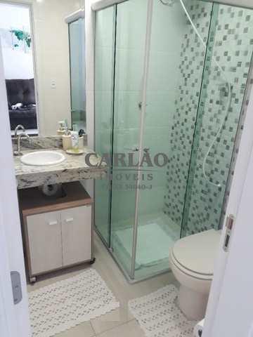 Apartamento com 2 dorms, Vila Atlântica, Mongaguá - R$ 360 mil, Cod: 353544