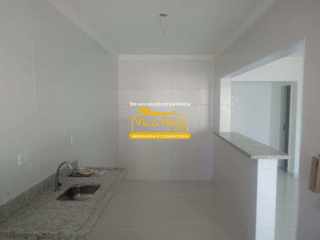 Apartamento com 2 dorms, Aviação, Praia Grande - R$ 370 mil, Cod: 375384