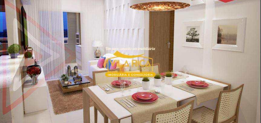 Apartamento com 1 dorm, Tupi, Praia Grande - R$ 255 mil, Cod: 376044