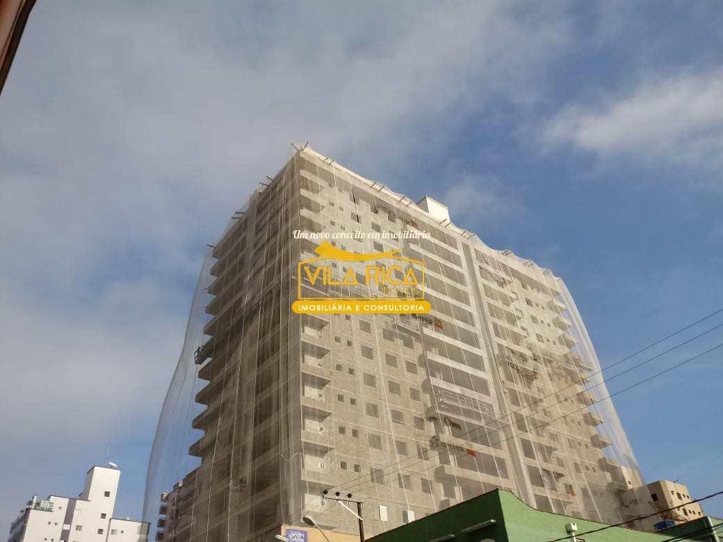 Apartamento com 3 dorms, Caiçara, Praia Grande - R$ 573 mil, Cod: 376204