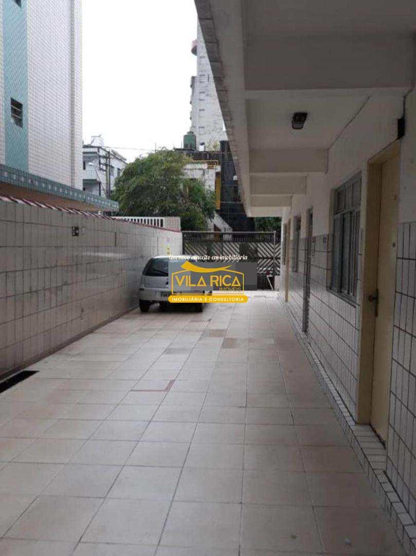 Apartamento com 1 dorm, Guilhermina, Praia Grande - R$ 140 mil, Cod: 376241