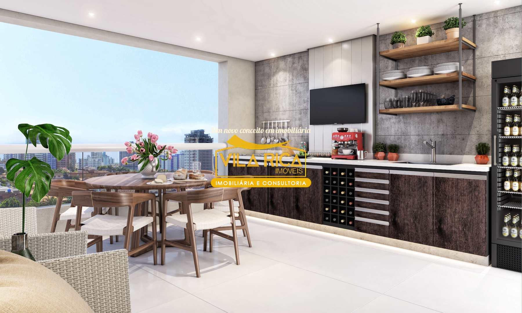 Apartamento com 3 dorms, Canto do Forte, Praia Grande - R$ 519 mil, Cod: 376676