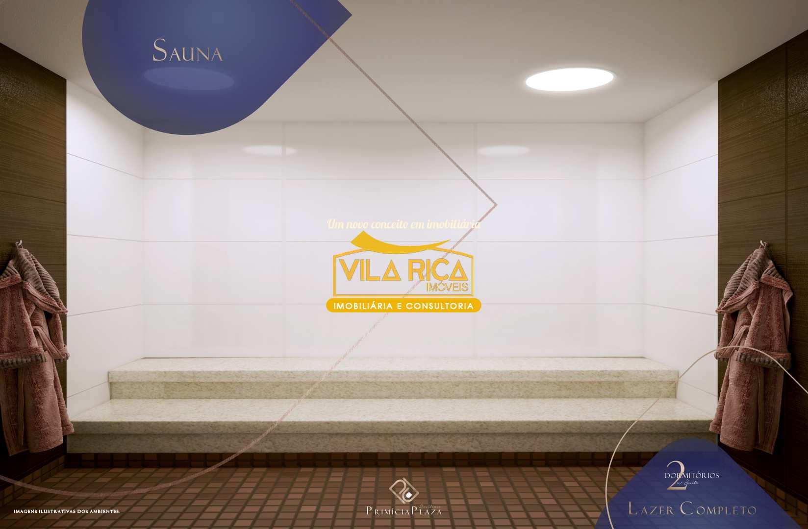 Apartamento com 2 dorms, Guilhermina, Praia Grande - R$ 310 mil, Cod: 377061
