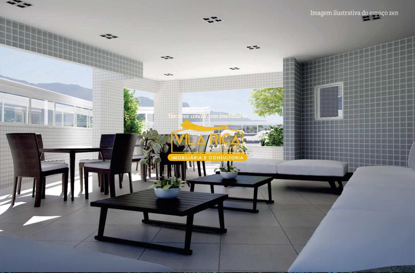 Apartamento com 1 dorm, Caiçara, Praia Grande - R$ 219 mil, Cod: 377091