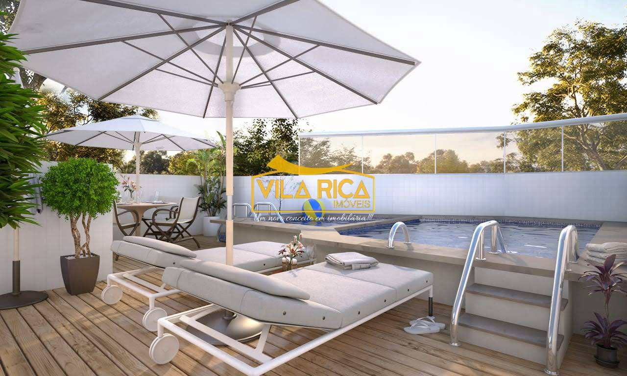 Apartamento com 2 dorms, Mirim, Praia Grande - R$ 323 mil, Cod: 377176