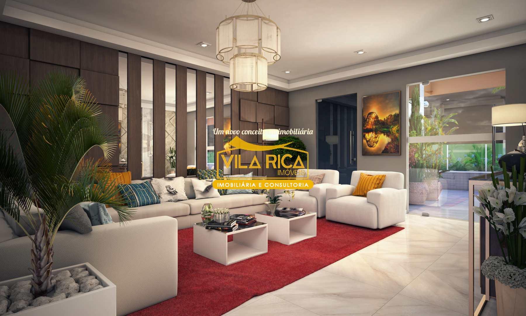 Apartamento com 2 dorms, Aviação, Praia Grande - R$ 287 mil, Cod: 377187