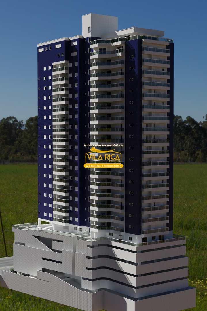 Apartamento com 2 dorms, Canto do Forte, Praia Grande - R$ 513 mil, Cod: 377390