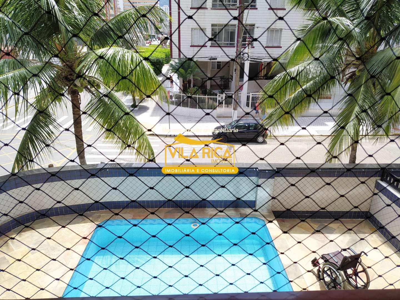 Apartamento com 3 dorms, Guilhermina, Praia Grande - R$ 450 mil, Cod: 377459