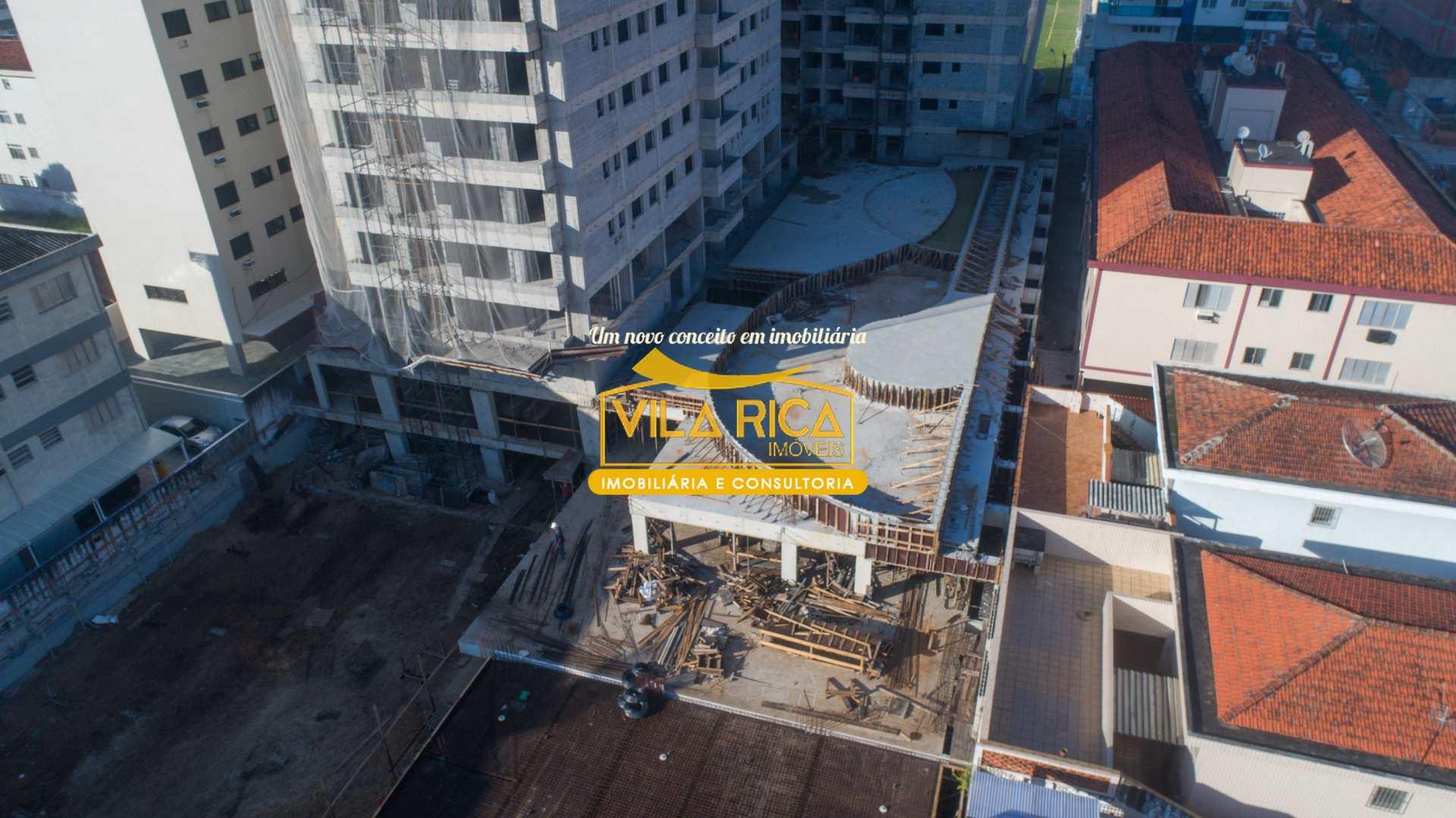 Apartamento com 2 dorms, Canto do Forte, Praia Grande - R$ 435 mil, Cod: 377515
