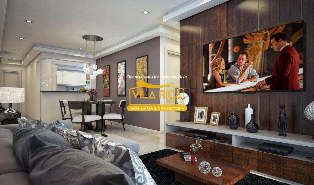 Apartamento com 2 dorms, Aviação, Praia Grande - R$ 350 mil, Cod: 377725