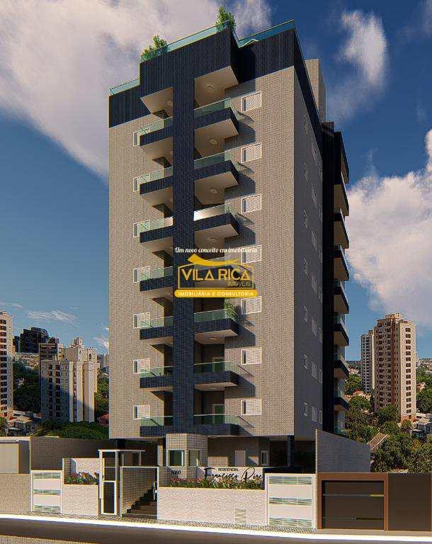 Apartamento com 2 dorms, Guilhermina, Praia Grande - R$ 280 mil, Cod: 377967