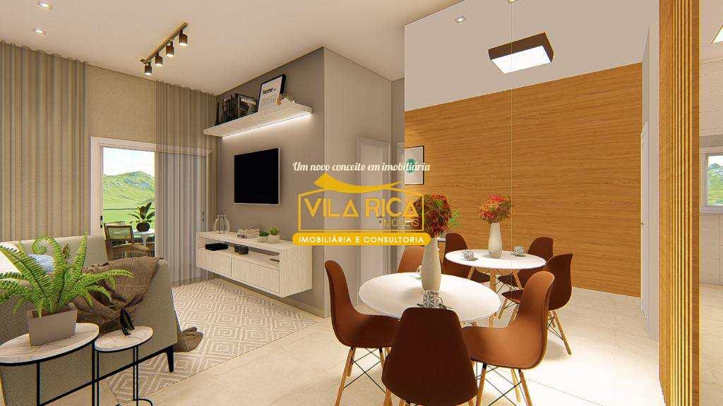 Apartamento com 2 dorms, Guilhermina, Praia Grande - R$ 280 mil, Cod: 377968