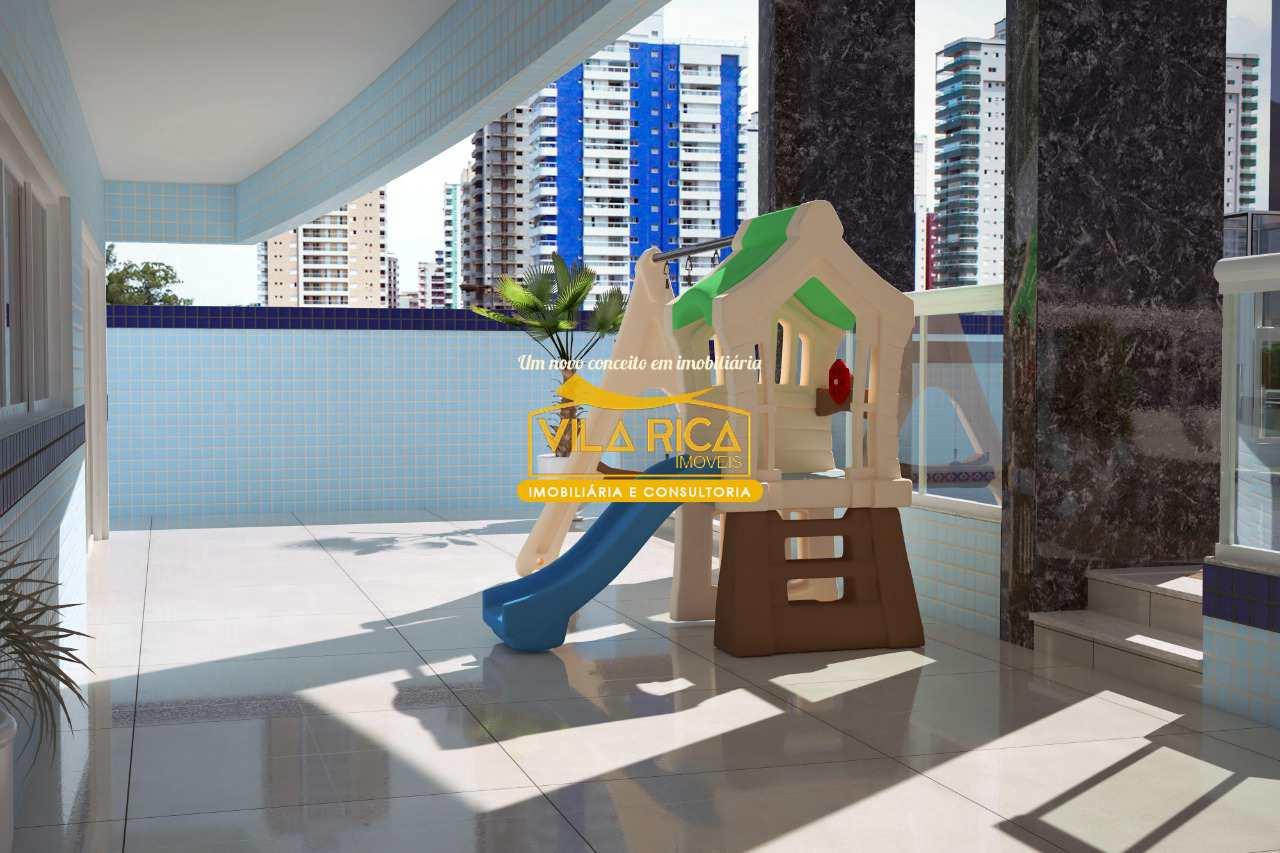 Apartamento com 2 dorms, Tupi, Praia Grande - R$ 411 mil, Cod: 377970