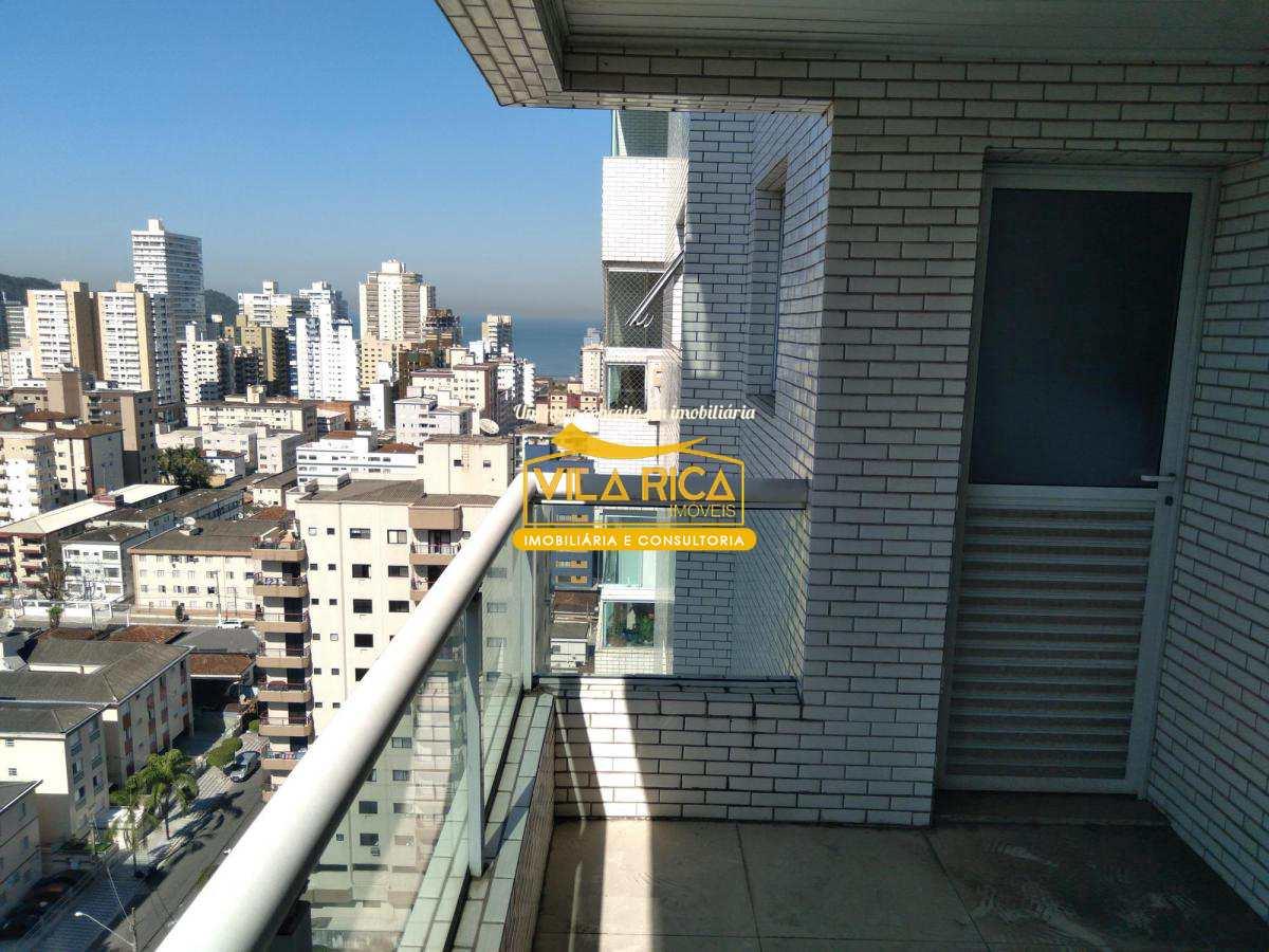 Apartamento com 3 dorms, Canto do Forte, Praia Grande - R$ 490 mil, Cod: 377971