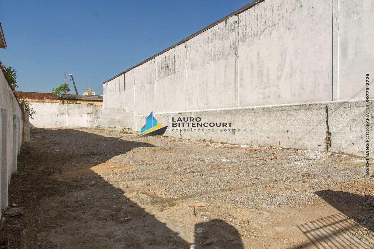Terreno, Vila Mathias, Santos - R$ 1.2 mi, Cod: 8490