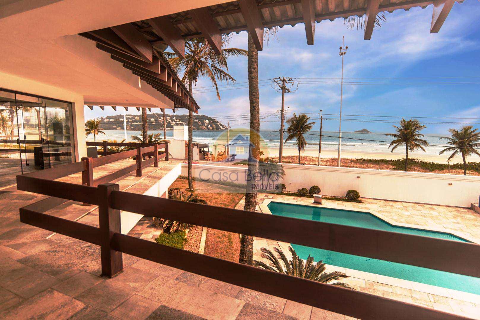Sobrado com 8 dorms, Praia da Enseada, Guarujá - R$ 7.000.000,00, 1.400m² - Codigo: 2877