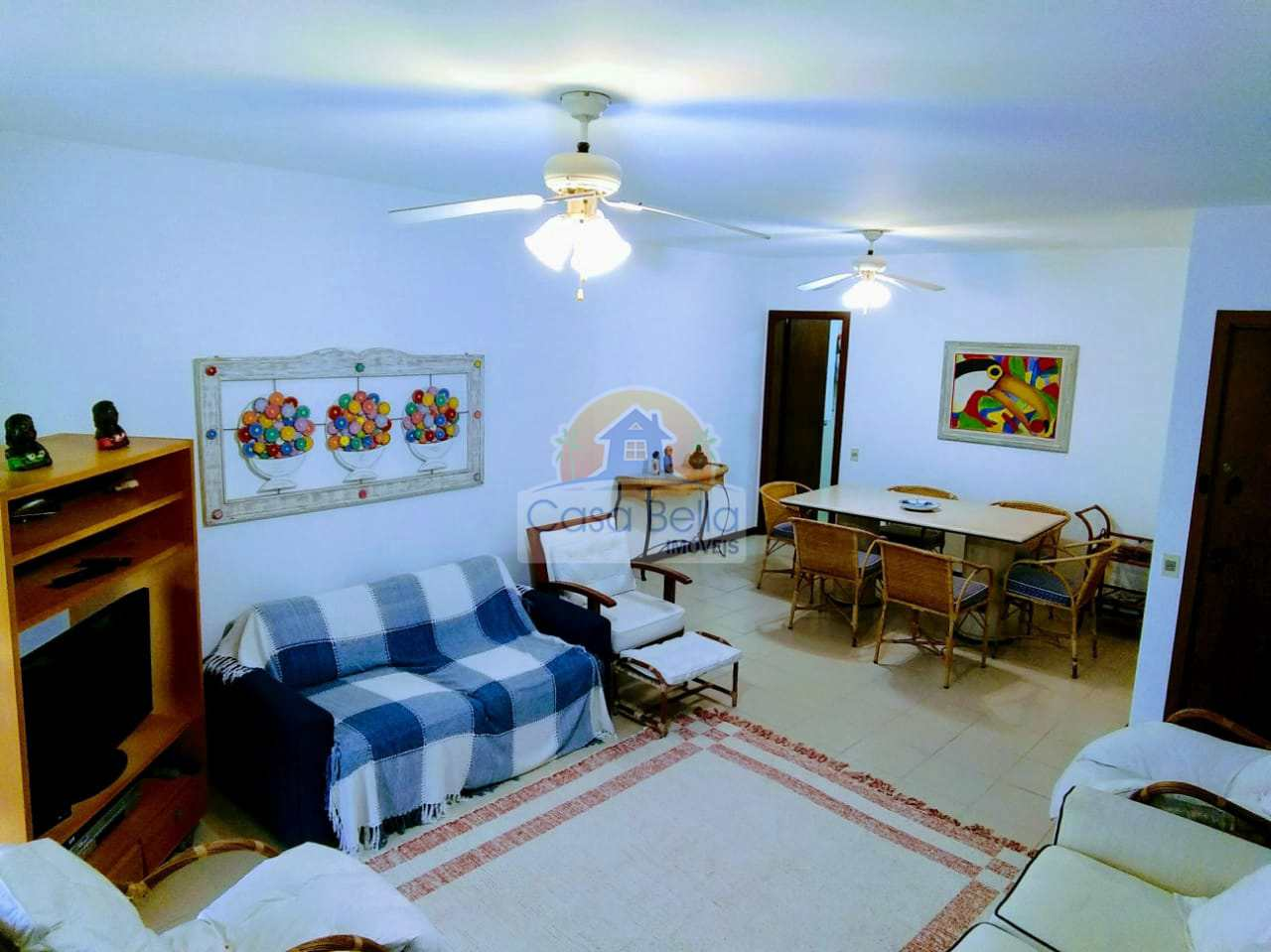 Apartamento com 3 dorms, Praia da Enseada, Guarujá, Cod: 3004