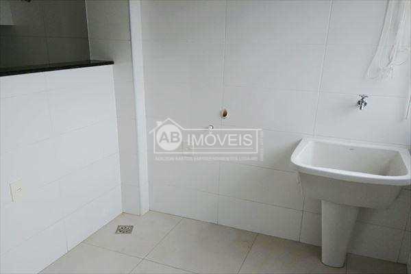 Apartamento com 2 dorms, Gonzaga, Santos, Cod: 2815