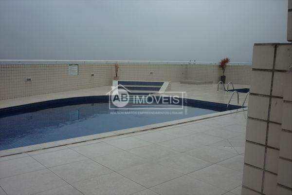 Apartamento com 3 dorms, Ponta da Praia, Santos - R$ 660 mil, Cod: 2722