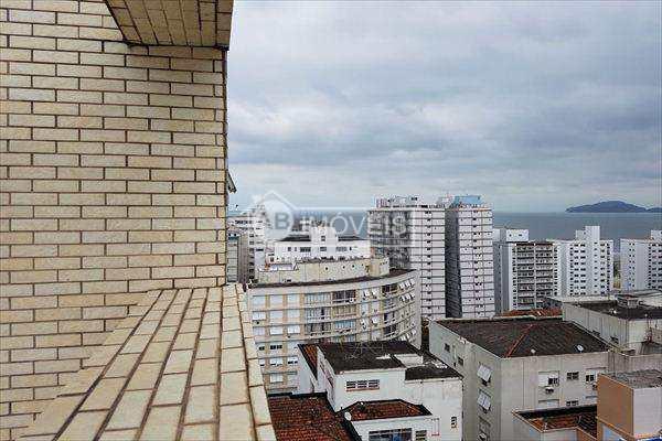 Apartamento em Santos, bairro Gonzaga. Locação é pacote!!