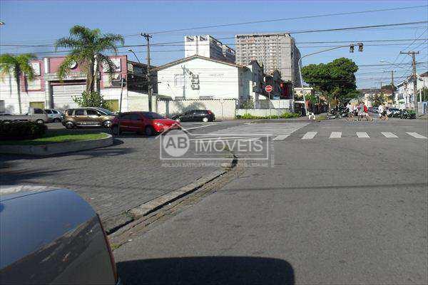 Terreno em Santos bairro Vila Mathias