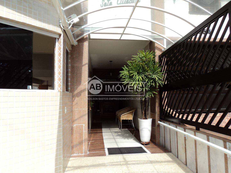 Apartamento a uma quadra Praia, 2 dorms, Boqueirão, Santos