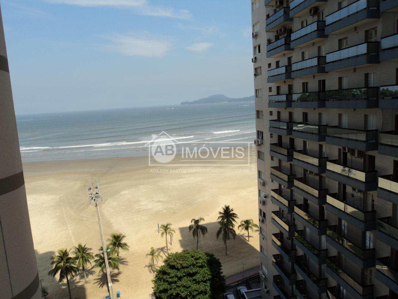 Apto com Vista Praia e Mar, com 3 dorms, José Menino, Santos