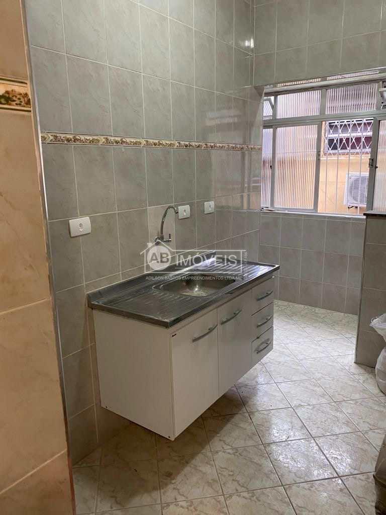 Apartamento com 1 dorm, Macuco, Santos - R$ 170 mil, Cod: 3688