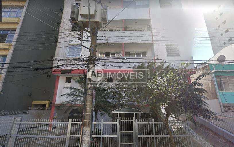 Apartamento com 1 dorm, Itararé, São Vicente - R$ 240 mil, Cod: 4240