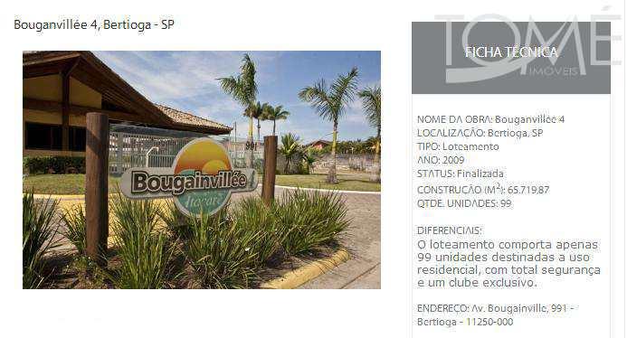 Terreno de Condomínio, Maitinga, Bertioga - R$ 300 mil, Cod: 609